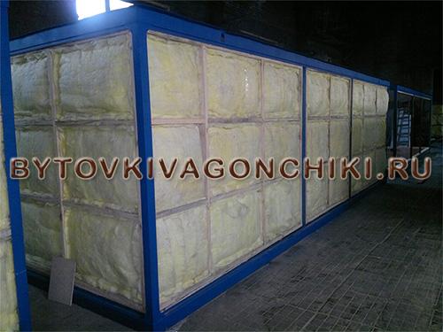 Утеплитель базового блок-контейнера