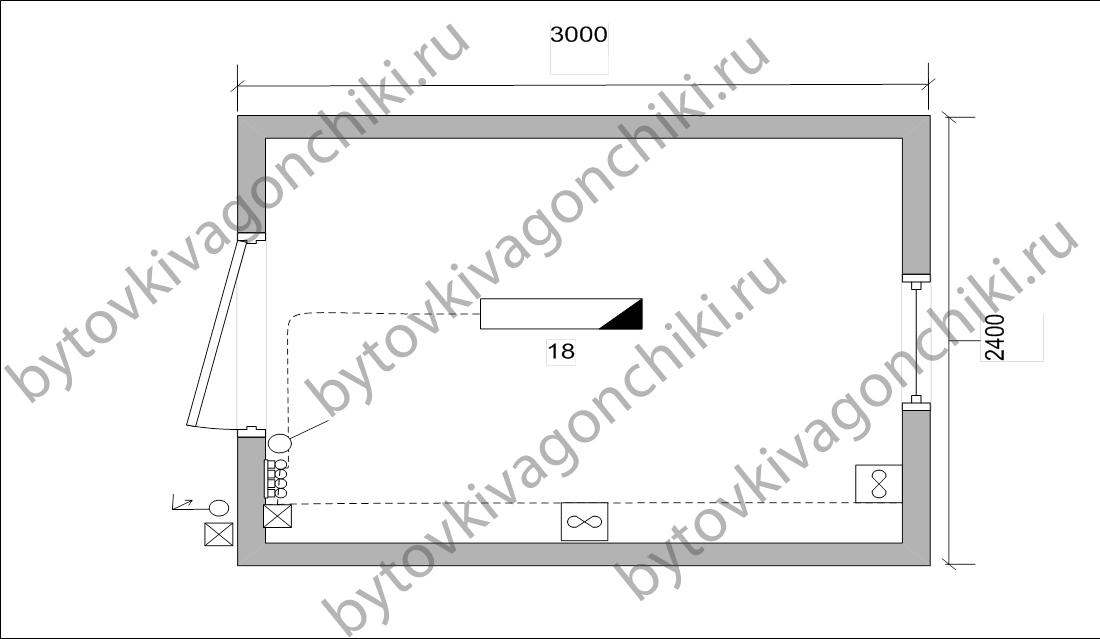 Схема электрики БК-3*2,4*2,5