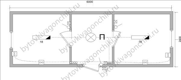 Схема электрики БК-6*2,4*2,5 распашонка